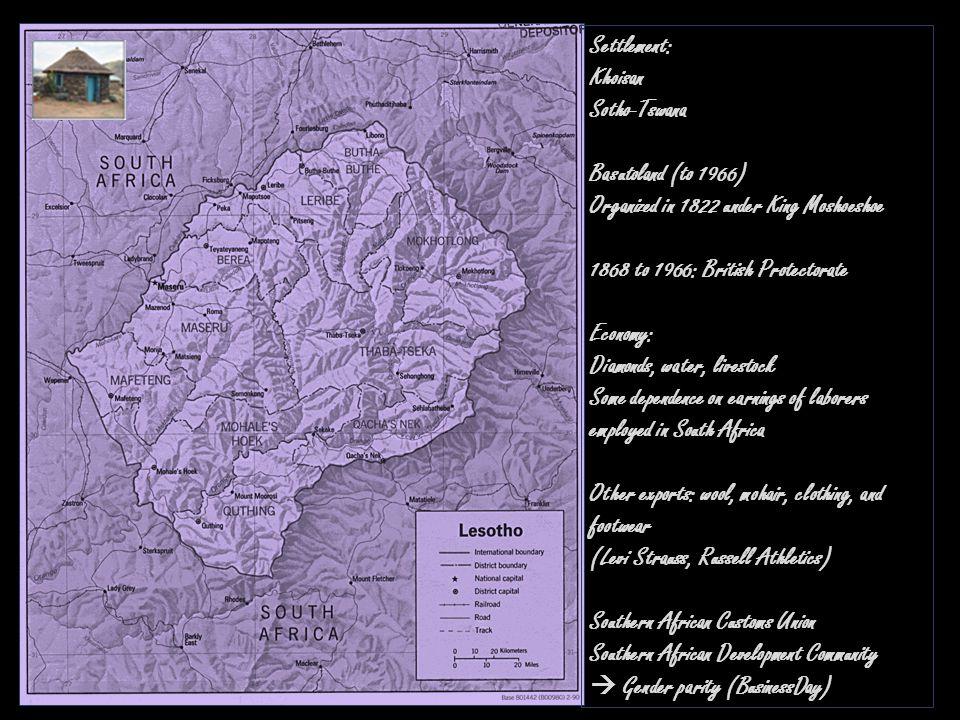 Bob amey lesotho the kingdom of the capital of lesotho is maseru 3 settlement sciox Choice Image