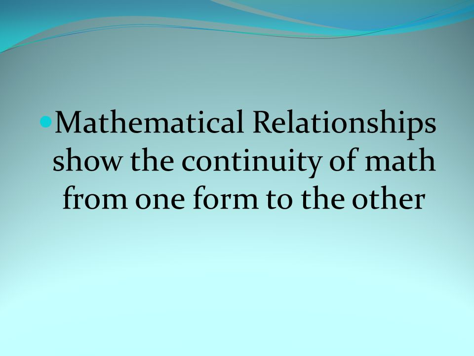 Remember!!!! Basic Mathematics are skills that can be tweaked to better serve our youth!!!!