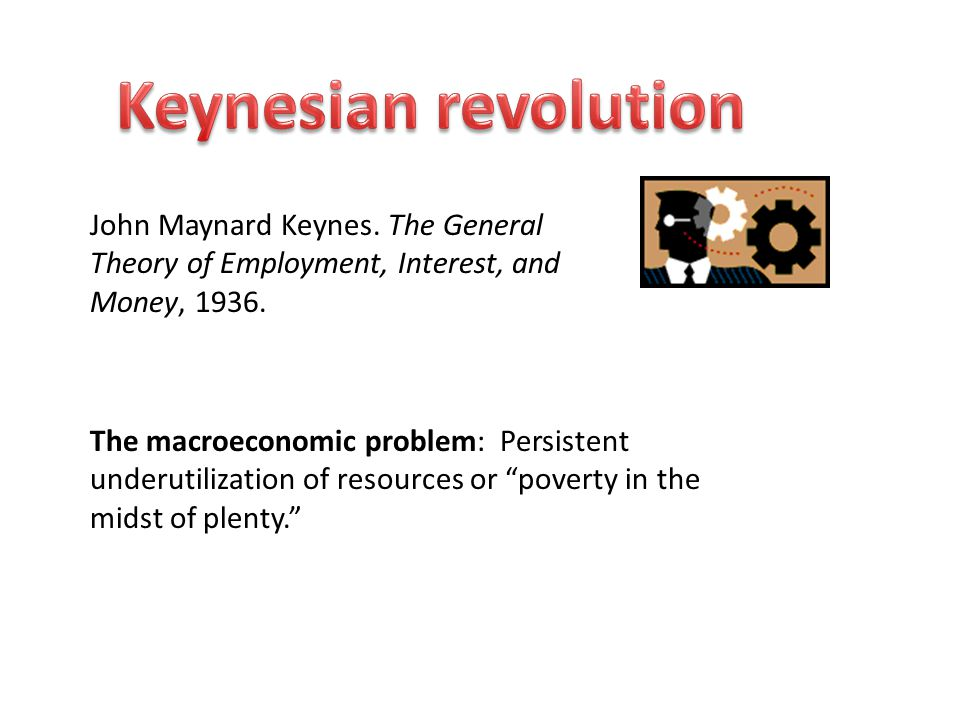 John Maynard Keynes. The General Theory of Employment, Interest, and Money,