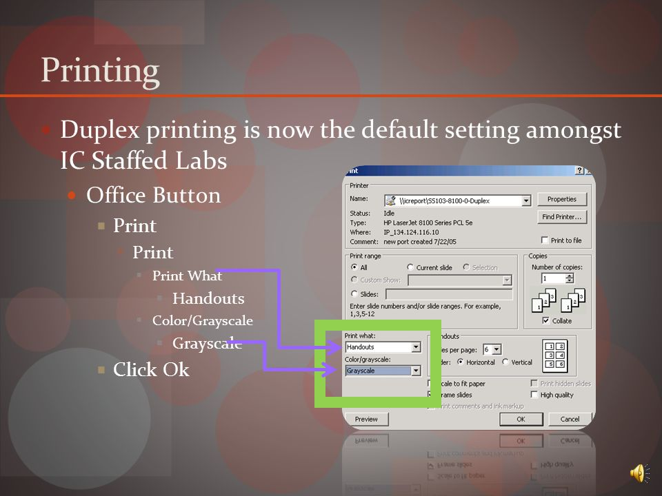 Packaging Allows user to play Microsoft PowerPoint Documents on computers which do not contain the program by installing PowerPoint Viewer.