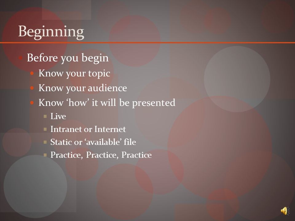 PowerPoint Basics Why is it a good tool to use.