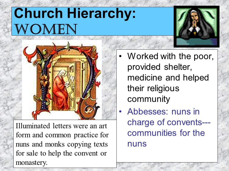 role of christian church in society in middle ages