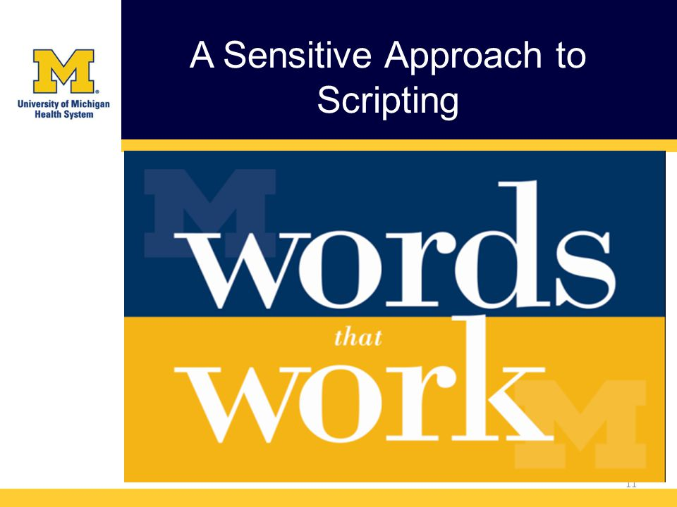 A Sensitive Approach to Scripting 11