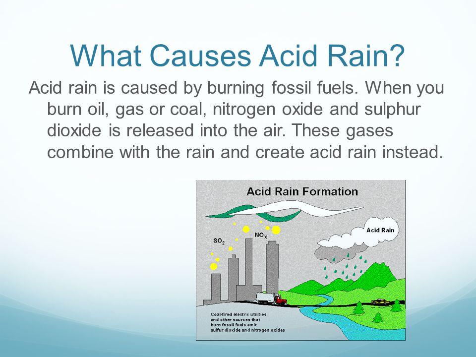Acid Rain By Jibrail. What is Acid Rain? Acid rain is rain that ...