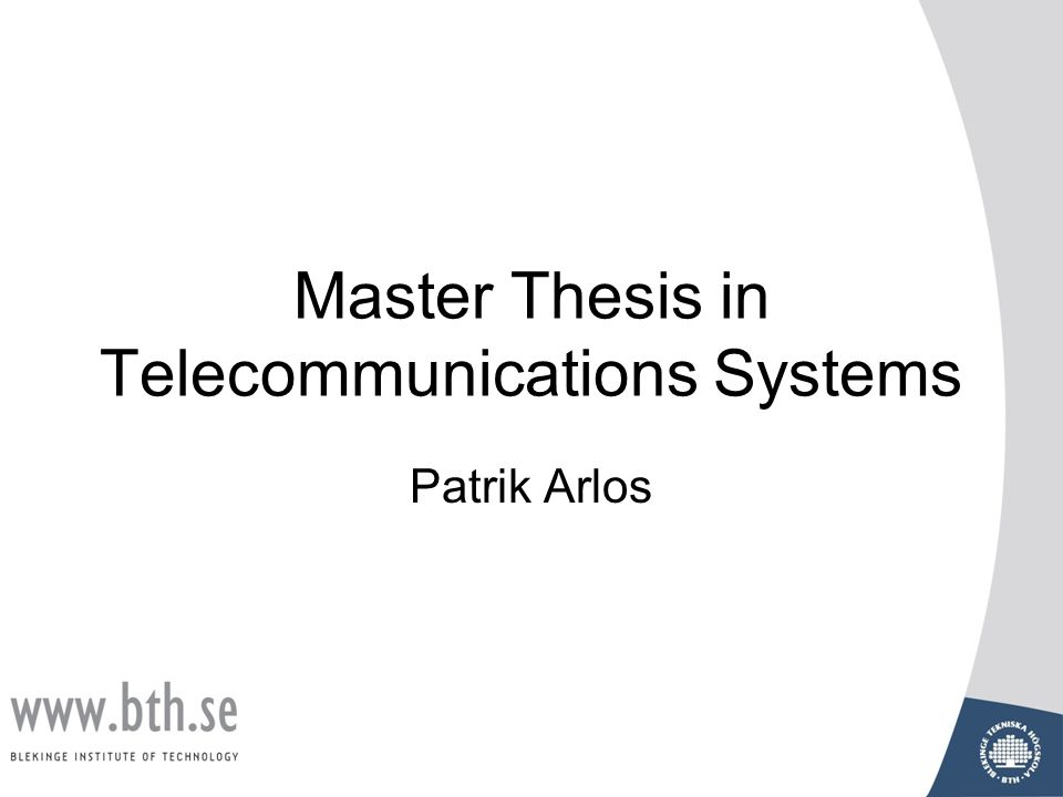 a master thesis in Paper guidelines and these guidelines for a master's thesis was an accurate table of contents provided was there a thesis statement.