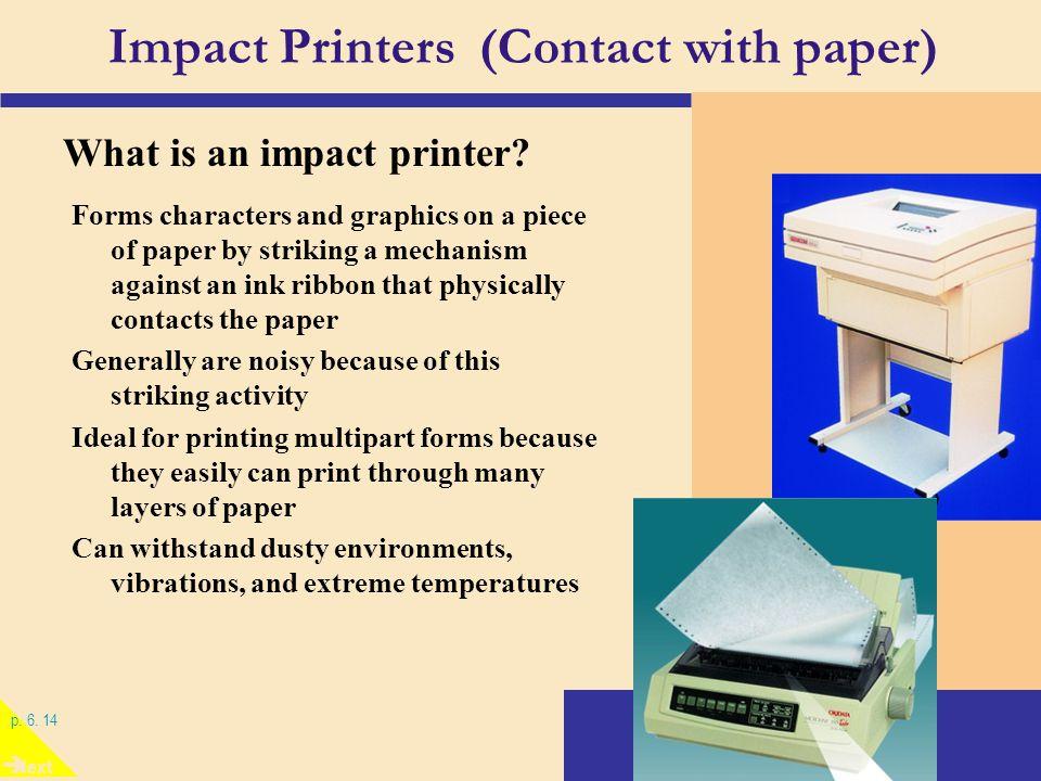 14 Impact Printers Contact