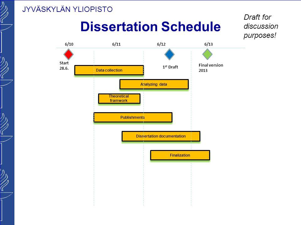 Dissertation comparative plan