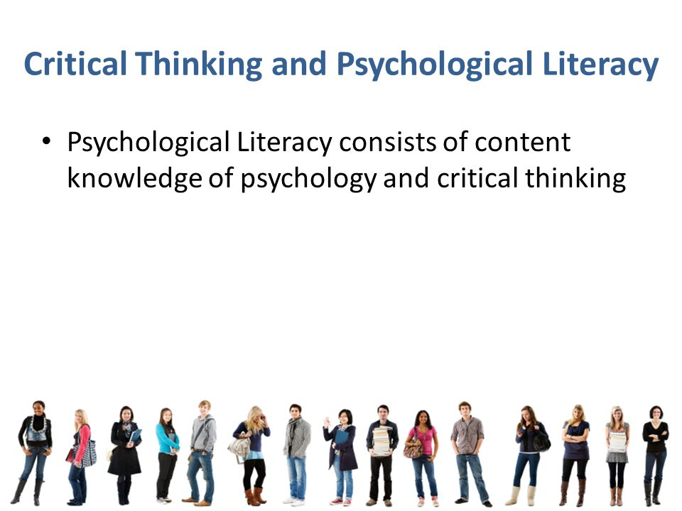 importance of critical thinking in psychology