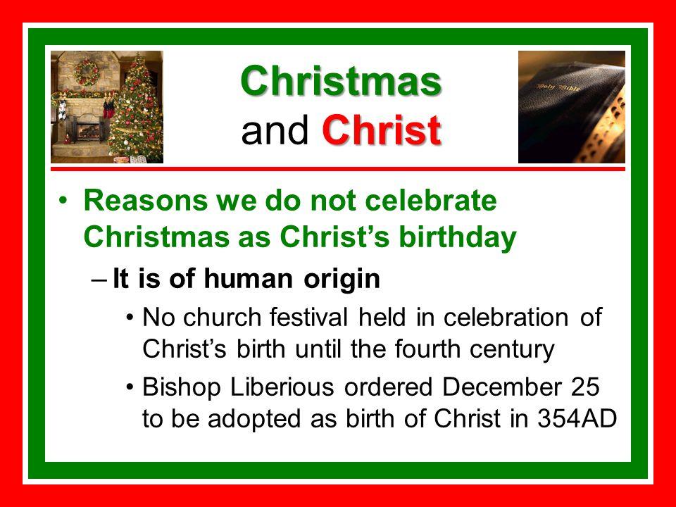 Christmas and Christ. Christmas Christ Christmas and Christ False ...