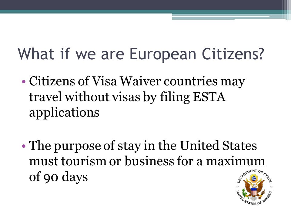 What if we are European Citizens.
