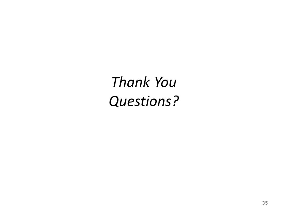 Thank You Questions 35