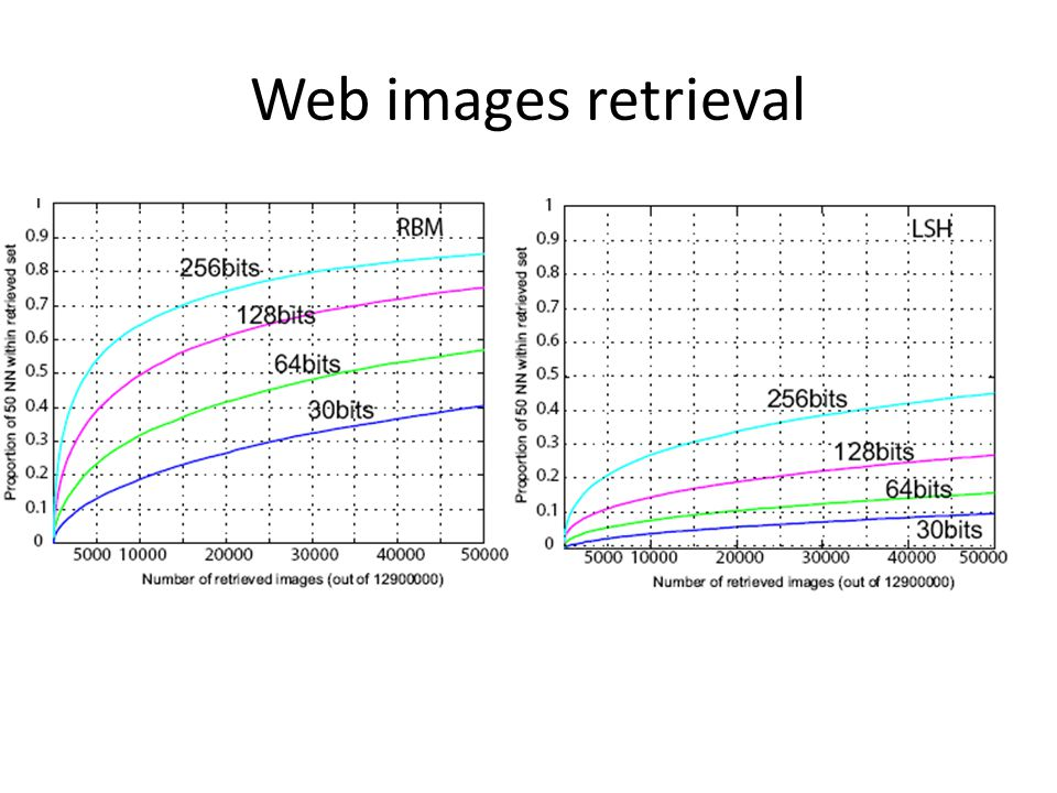 Web images retrieval