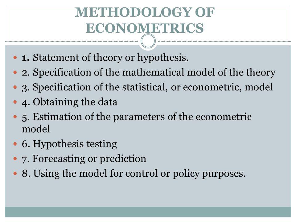 Theory statement