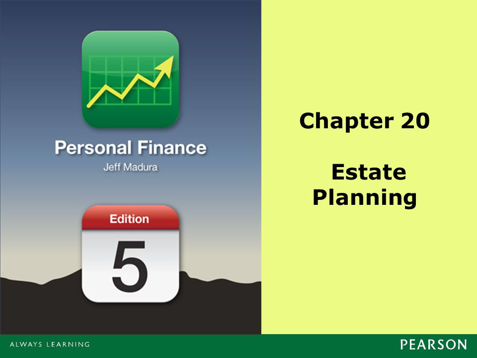 Chapter 20 Estate Planning