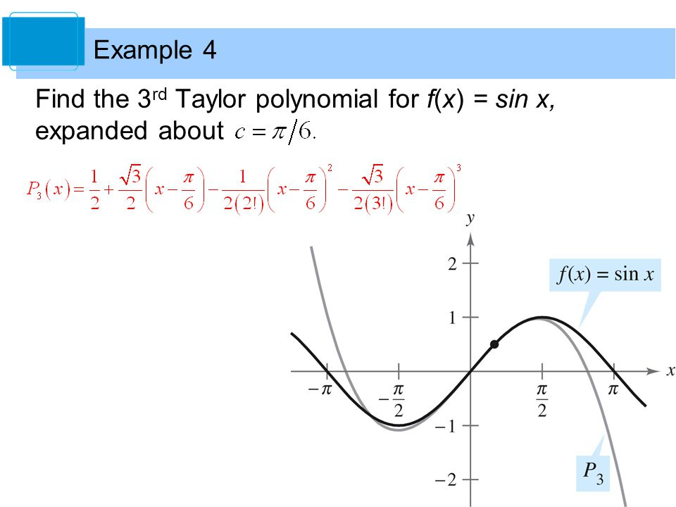 Taylor Polynomials And Approximations Homework Assignments - image 3