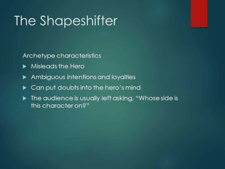 SPECS & THE CITY: The Shapeshifter Archetype and 'Harry Potter ...