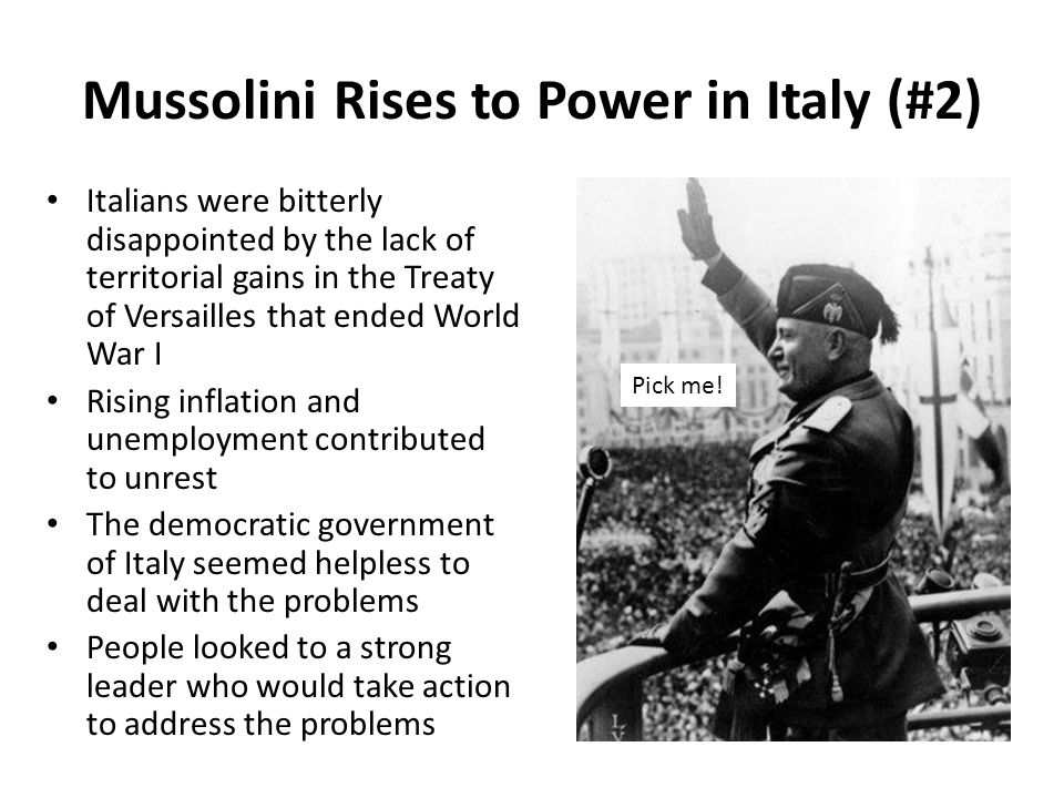 Fascism in italy and the modern world........?
