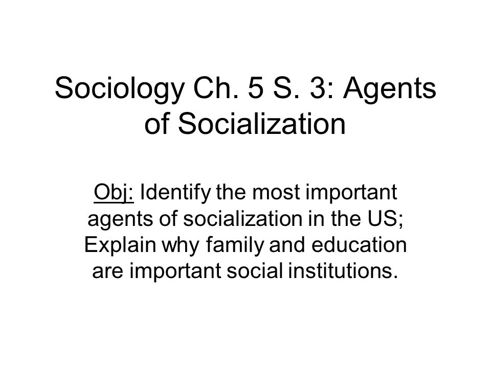 agents of socialization essay 5 This is a free sample essay on socialization and socialization essay example for students you can easily order a custom essay agents of socialization.