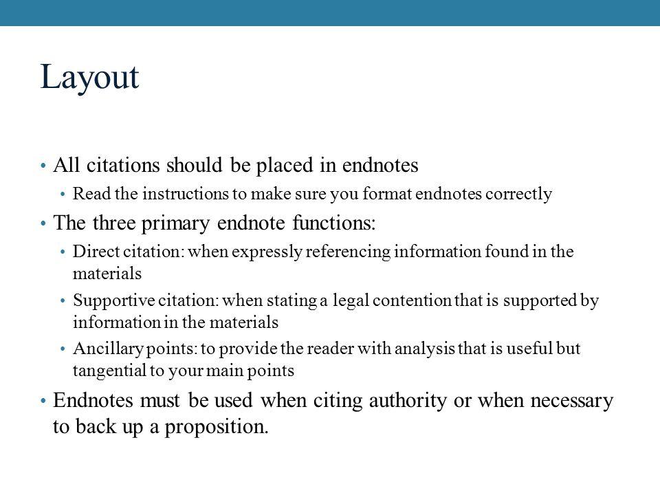 Shorter formatting for website endnote citation?