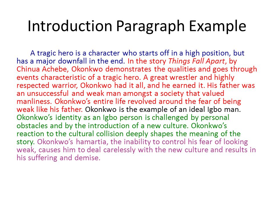 How To Write Introduction For Essay