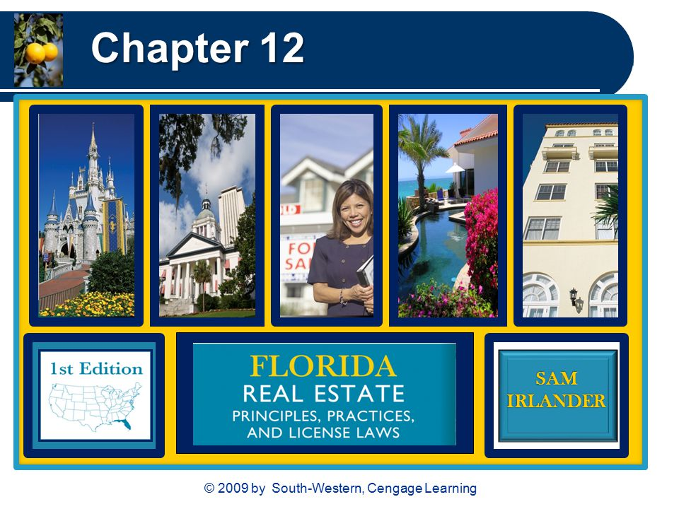 © 2009 by South-Western, Cengage Learning SAMIRLANDER Chapter 12