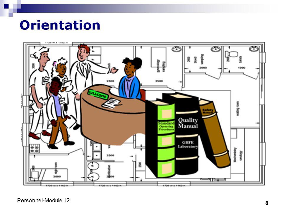 Personnel-Module 12 8 Orientation