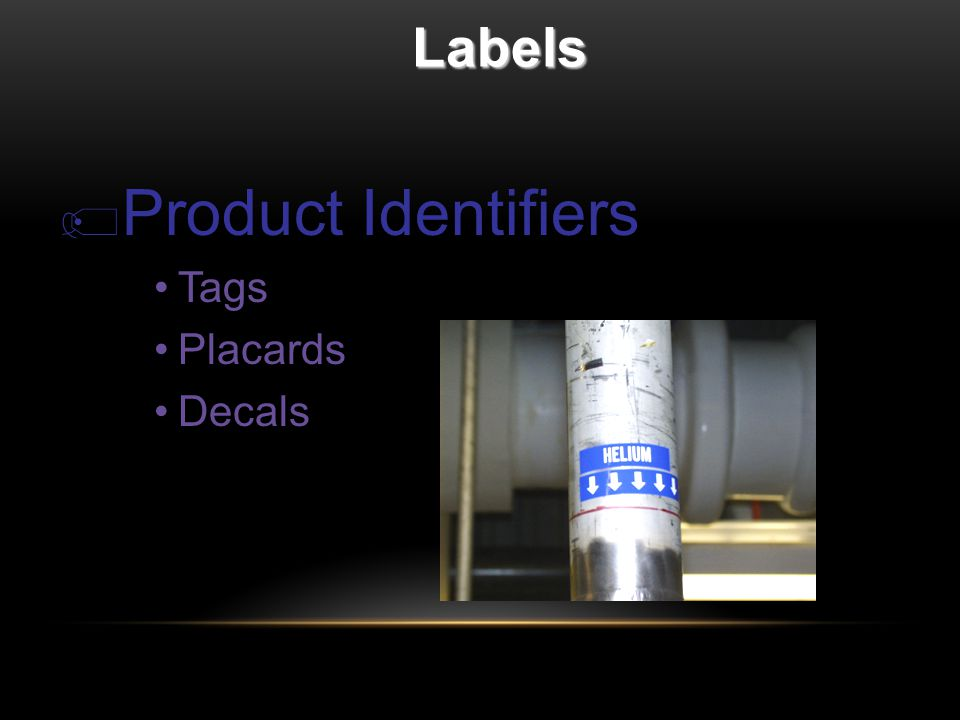 Labels  Product Identifiers Tags Placards Decals