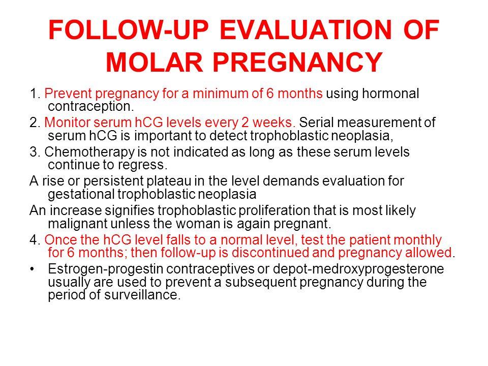 Moler pregnancy