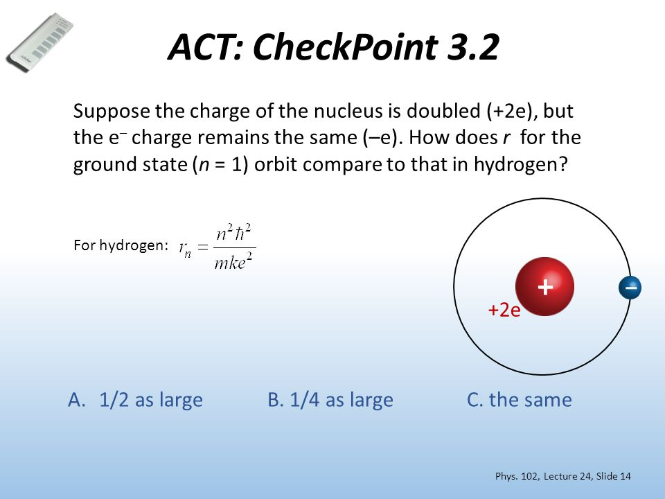 ACT: CheckPoint 3.2 Phys.
