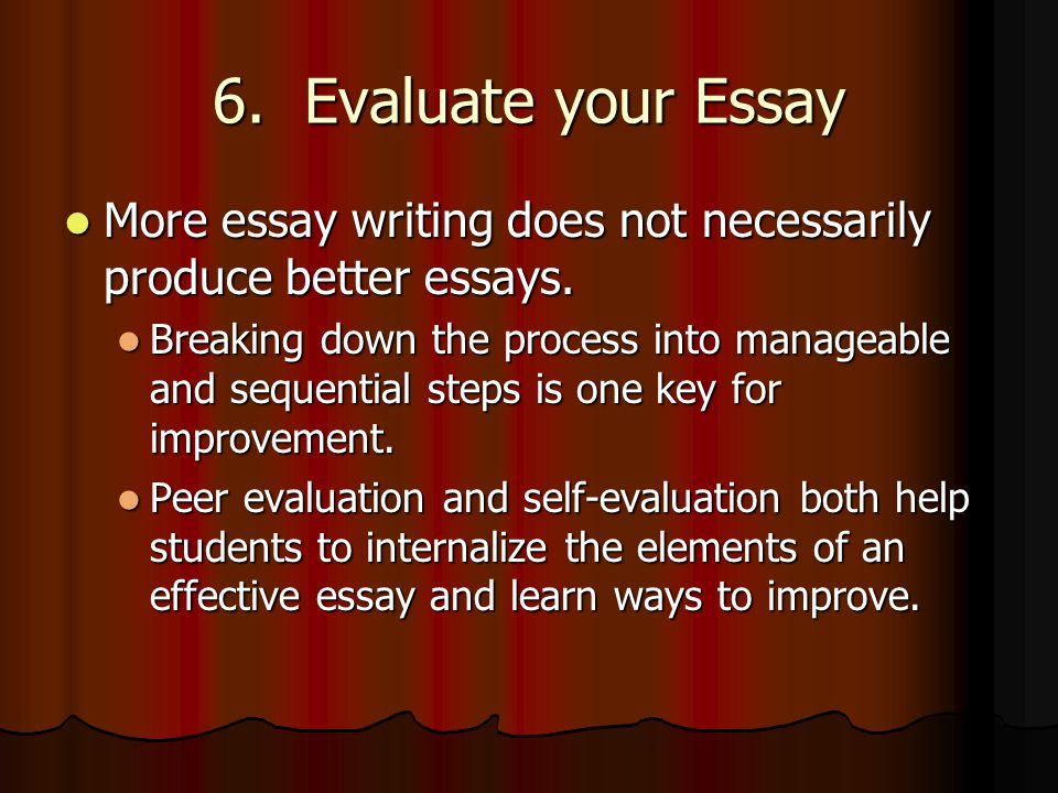 Law School Essay Writing