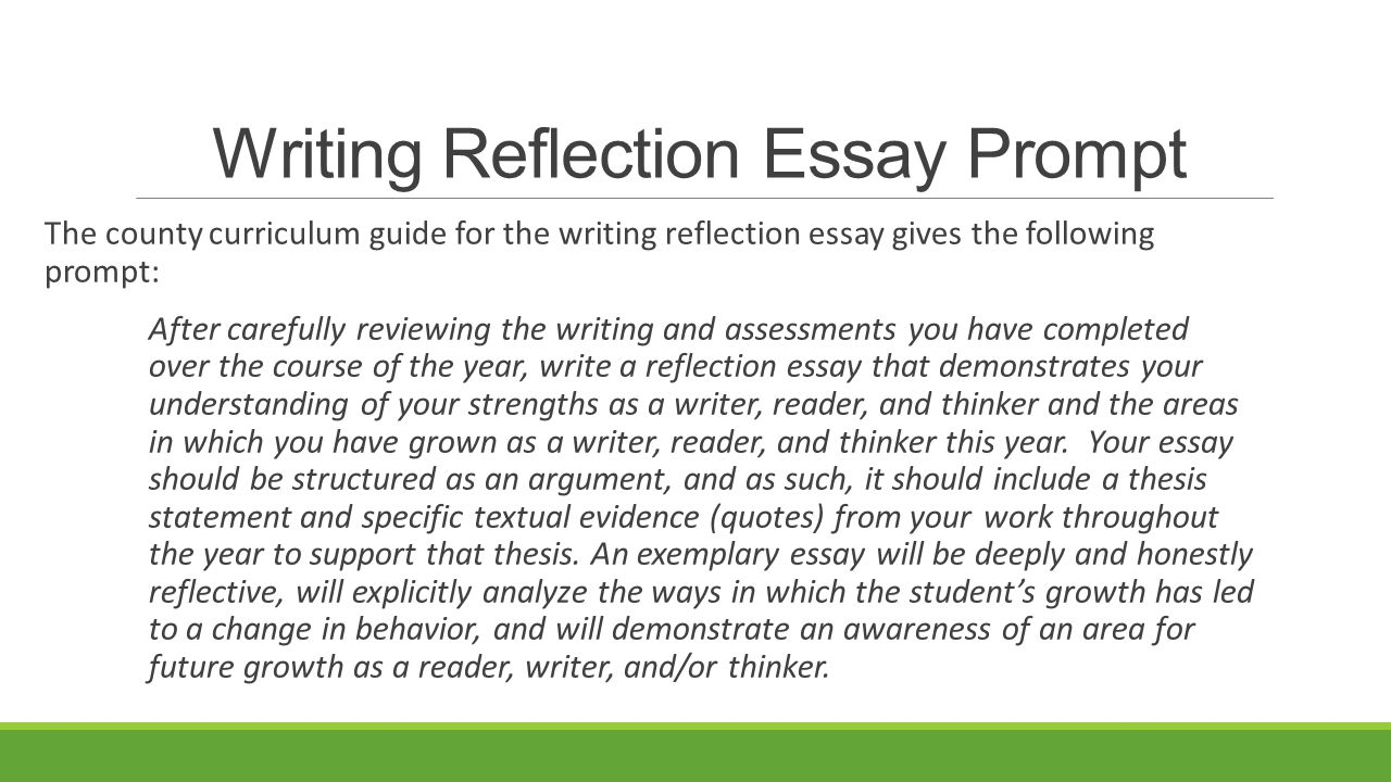 reflective essay after course This could be used in any course it is particularly useful if a class a self reflection after an exam helps students understand why they performed as they did.