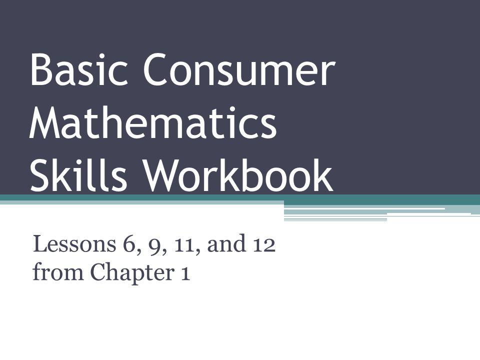 High School Consumer Math Worksheets & worksheet 9001165 math ...
