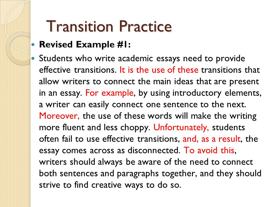 transitional essay Narrative example paraphrasing essay transitional words essay mega essay topics for problem and what key elements should be present in your nonverbal communication essay introduction.