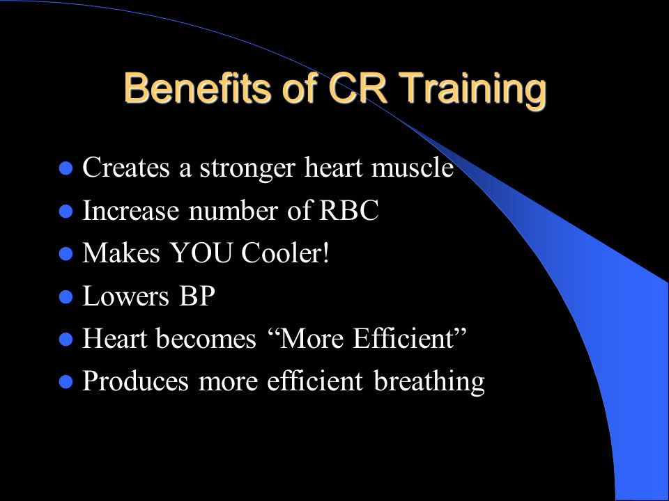 Achieving Cardiorespiratory Fitness Chapter 12