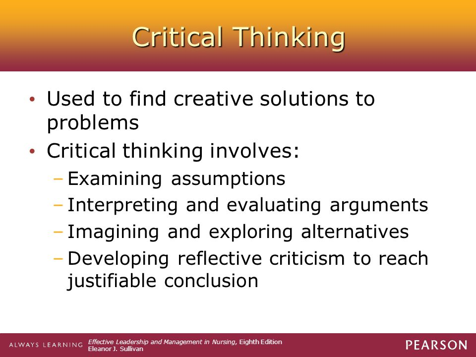 critical thinking problems and solutions Encourage Creativity