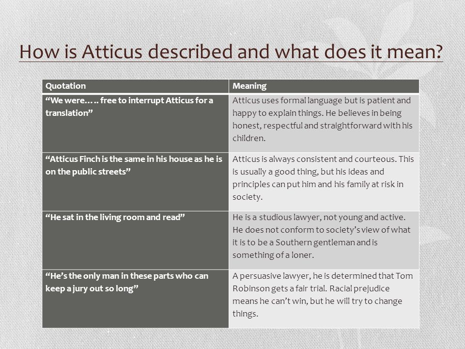 character revision to kill a mockingbird atticus finch atticus  10 how