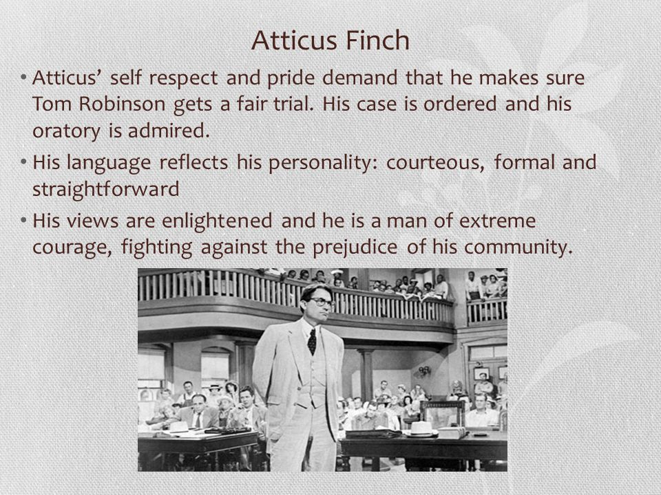 atticus finch personal motto Alumni ink: my father and atticus finch if you miss the atticus of mockingbird, if you feel sad about the atticus of watchman, keep reading this book is about.