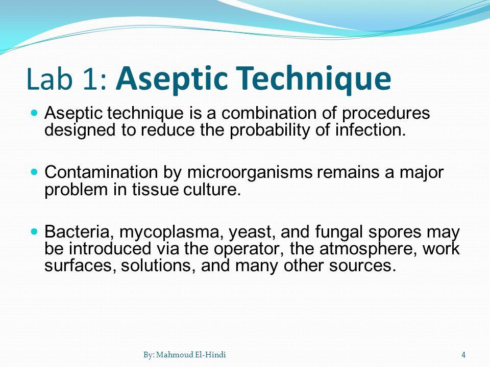 aseptic technique 1