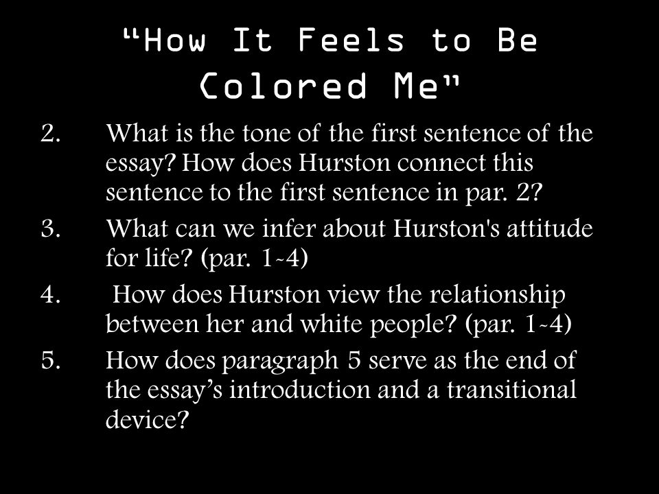 sweat by zora neale hurston essay