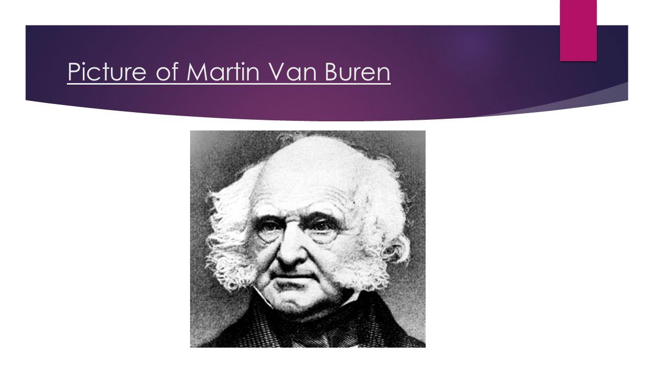 Picture of Martin Van Buren