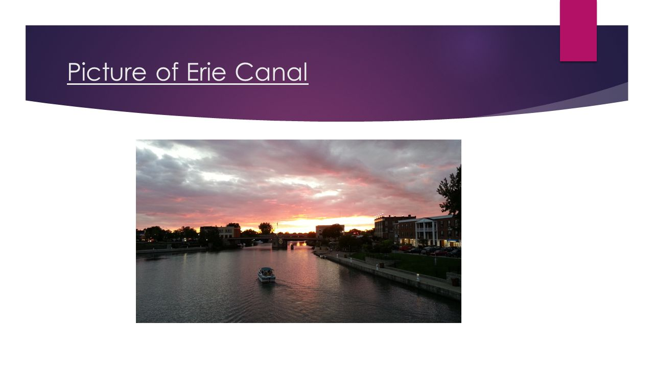 Picture of Erie Canal