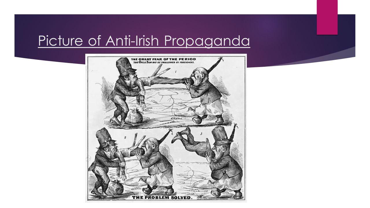 Picture of Anti-Irish Propaganda