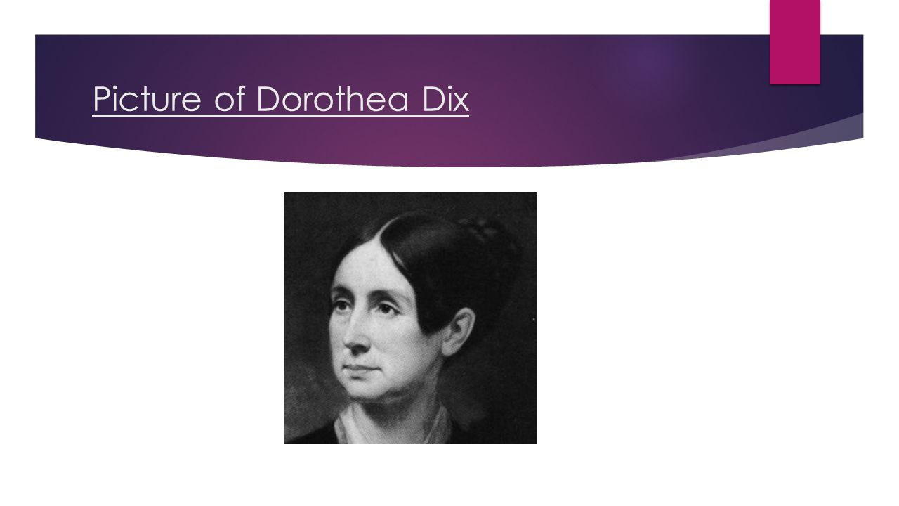 Picture of Dorothea Dix