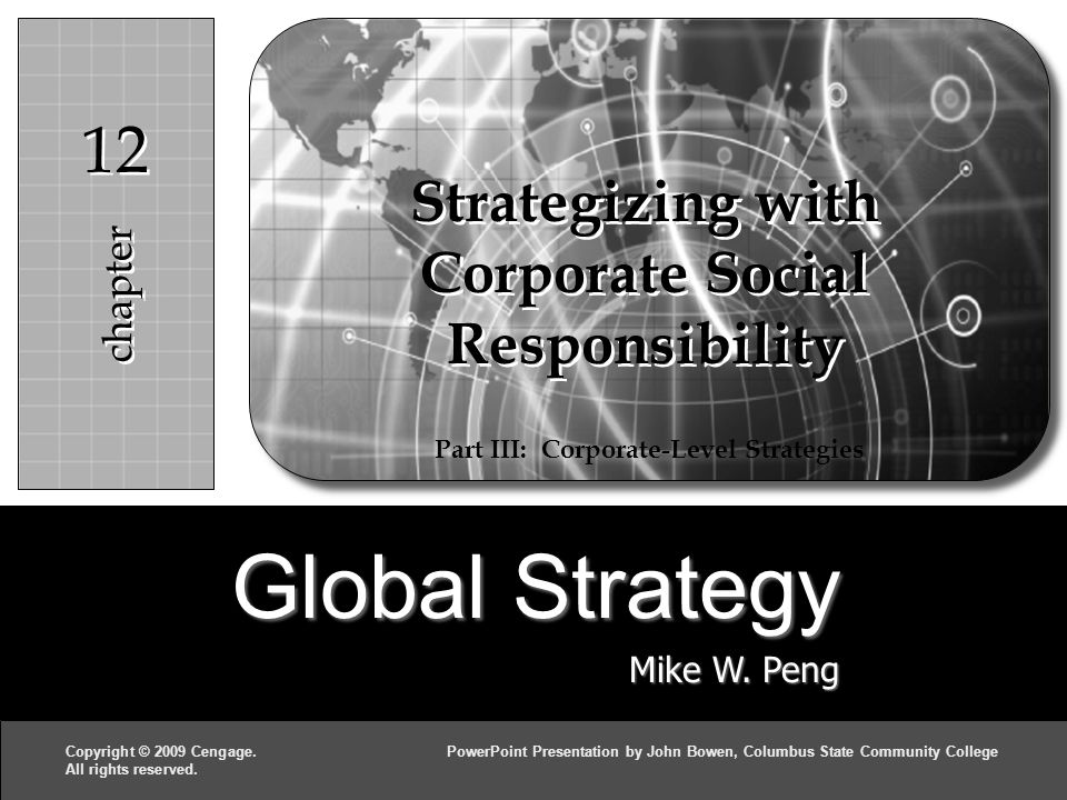 Global Strategy Mike W.