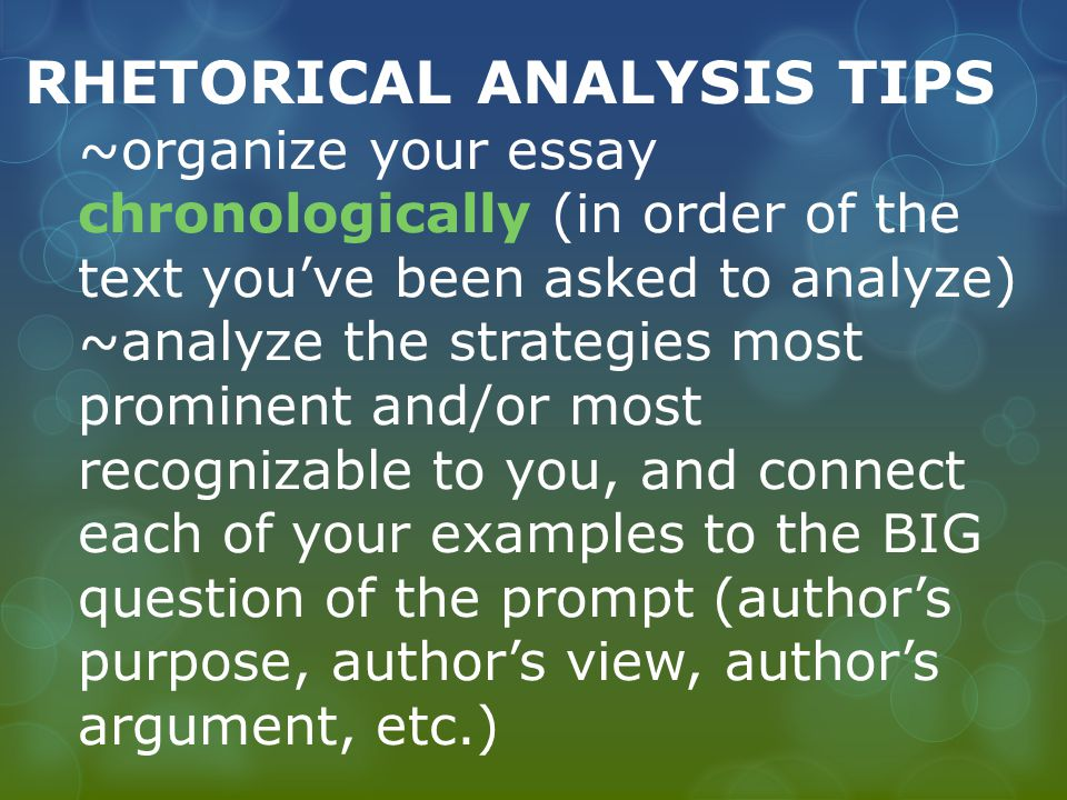 questions ask writing analytical essay A rhetorical analysis essay is one of the most common types of essay assigned to literature students if you have ever seen the legendary movie inception, be prepared to experience a similar type of mind-boggling.