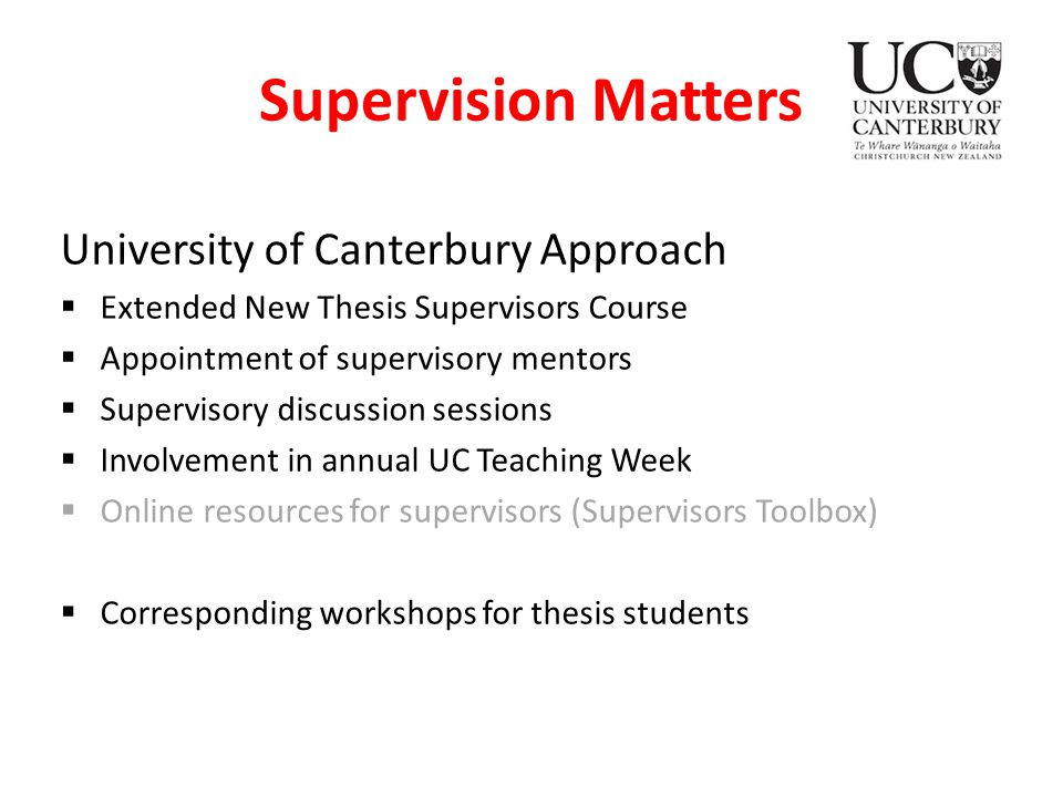 thesis supervisor recommendation letter