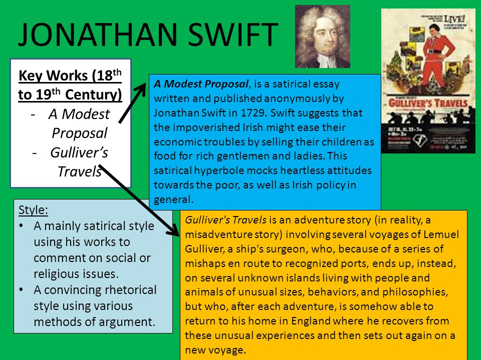 classic satire essays Free candide satire papers, essays, and research papers.