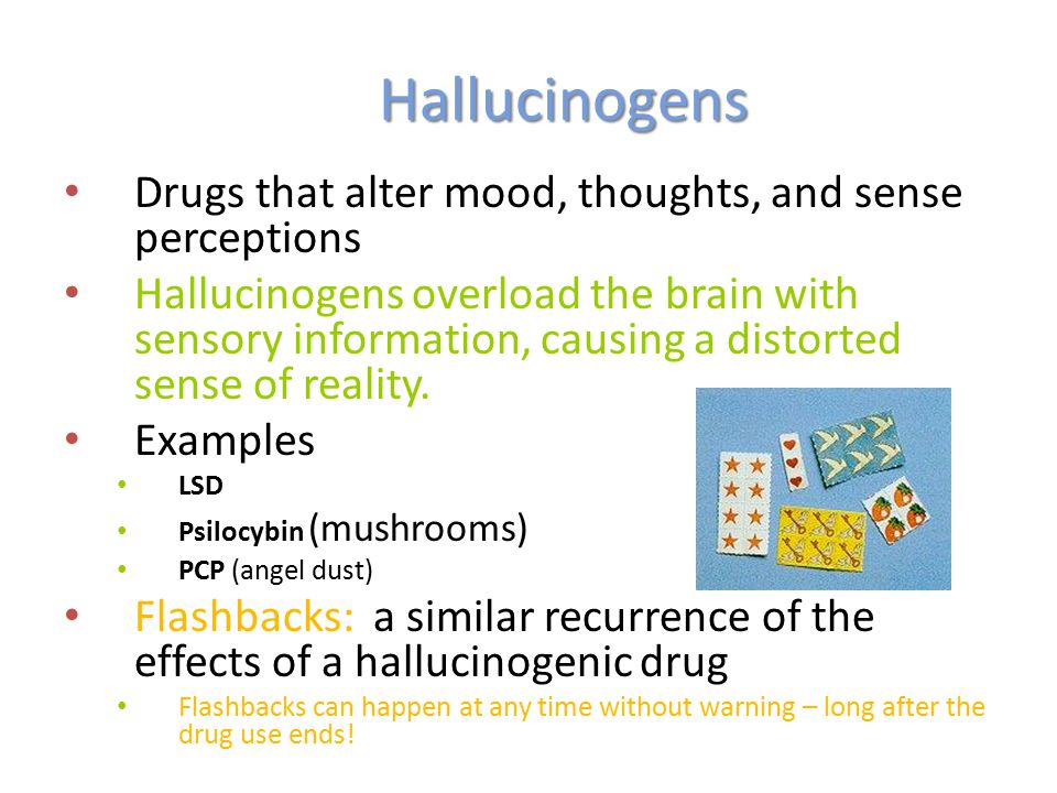 Picture Suggestion For Hallucinogens Examples