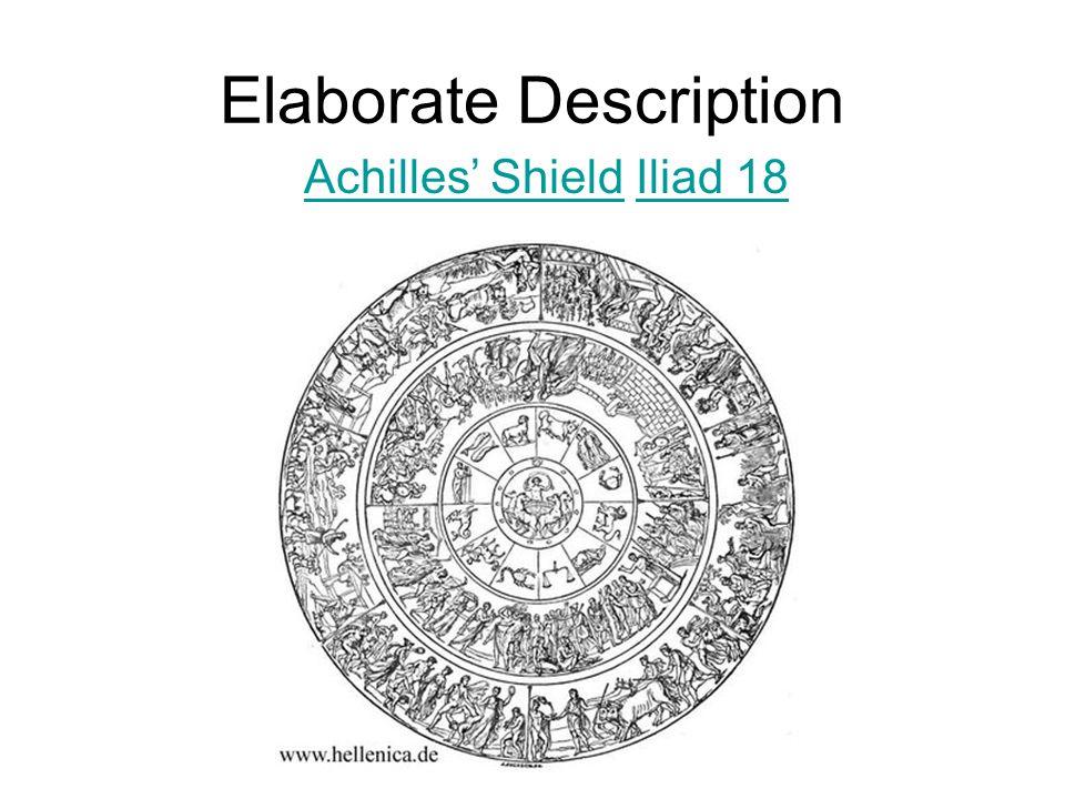 the role of the shield of achilles in the illiad Shield of achilles in the iliad: description & analysis next lesson  armor of achilles in the iliad ajax the lesser's role in the iliad nestor in the iliad.