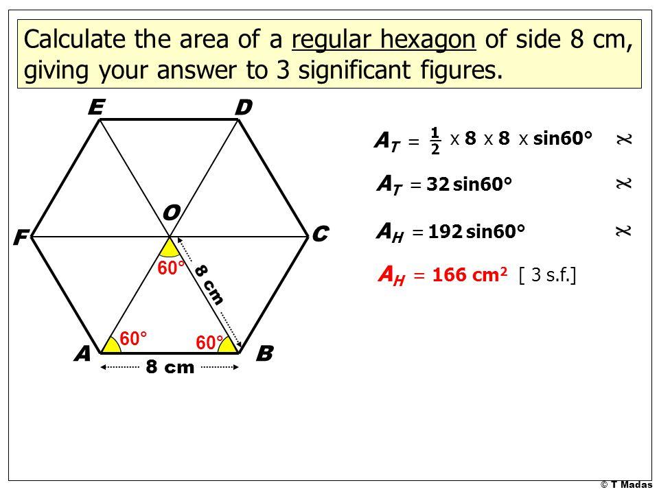 Resultado de imagen para hexagon circle calculator